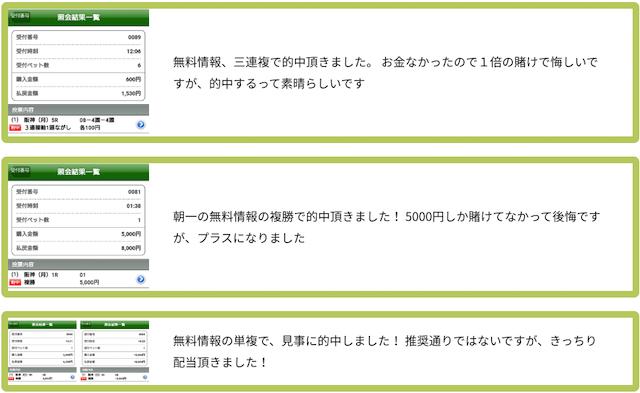 アクセスを利用しているユーザーのメッセージ画像