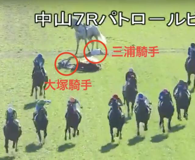 落馬事故詳細