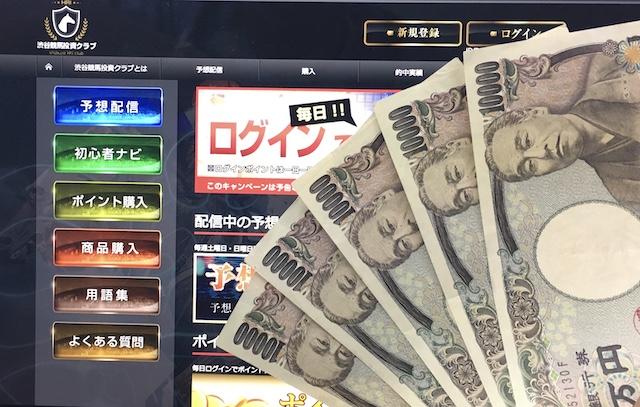 渋谷競馬投資クラブのトップページ