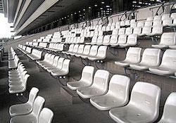 コロナ観客0