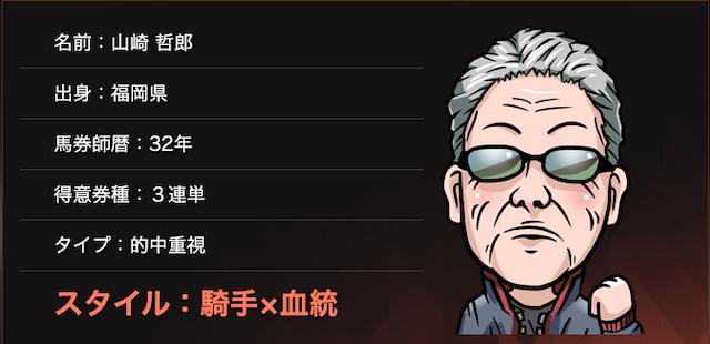 的中総選挙の山崎 哲郎