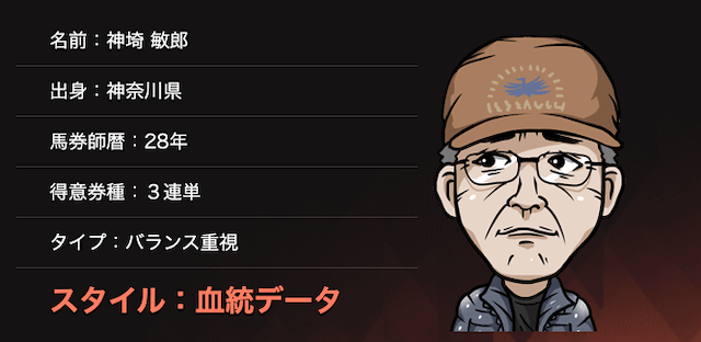 的中総選挙の神埼 敏郎