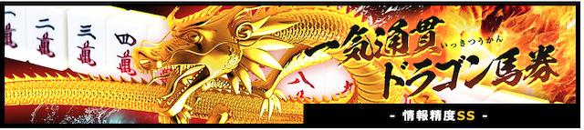 ゴールドラッシュ一気通貫ドラゴン馬券