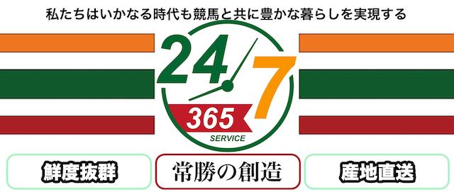 うまっぷの有料情報Twenty-Four-Seven