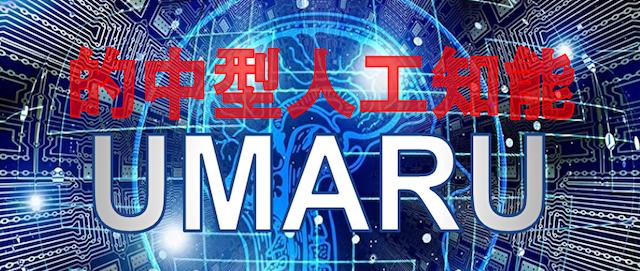 うまっぷの有料情報的中型人工知能UMARU